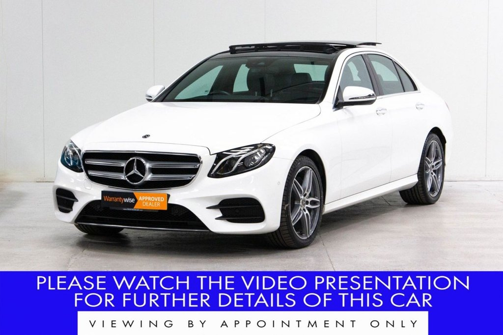 USED 2018 18 MERCEDES-BENZ E-CLASS 2.0 E220d AMG Line (Premium) G-Tronic+ (s/s) 4dr COMAND*PAN ROOF*MEMORY PACKAGE