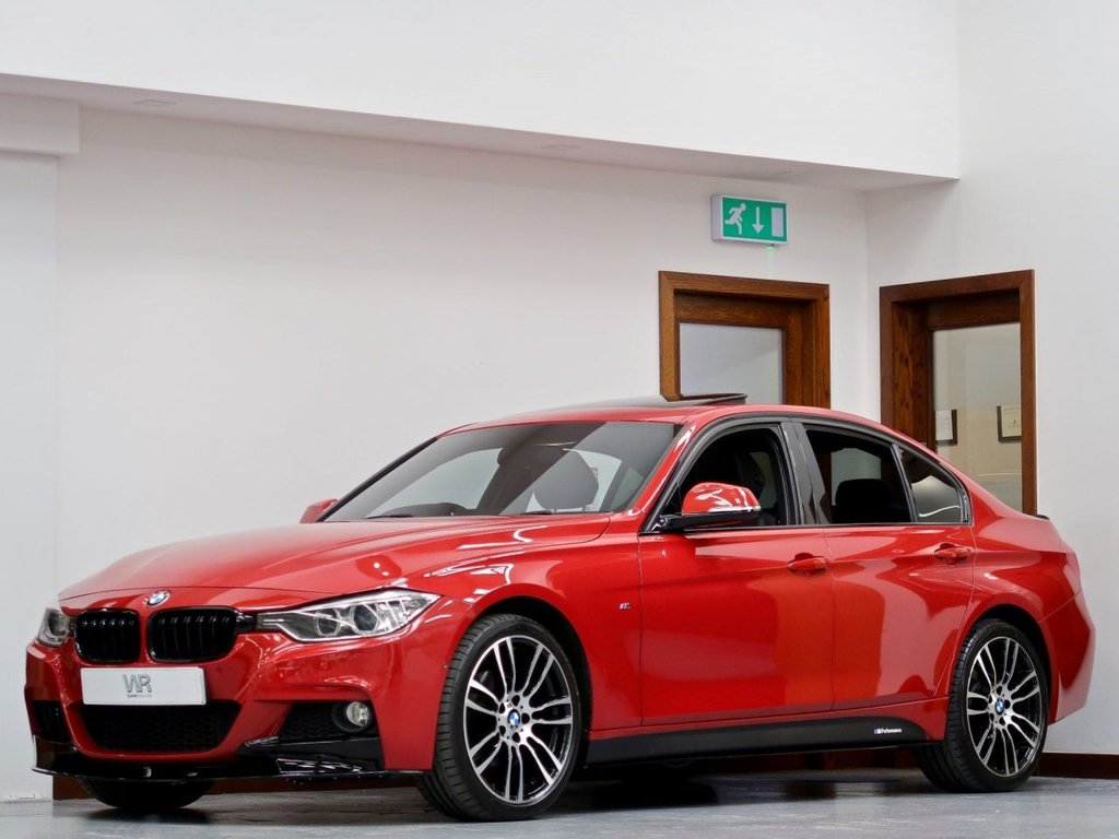 USED 2013 63 BMW 3 SERIES 2.0 320d M Sport xDrive (s/s) 4dr SUNROOF + M PERFORMANCE KIT