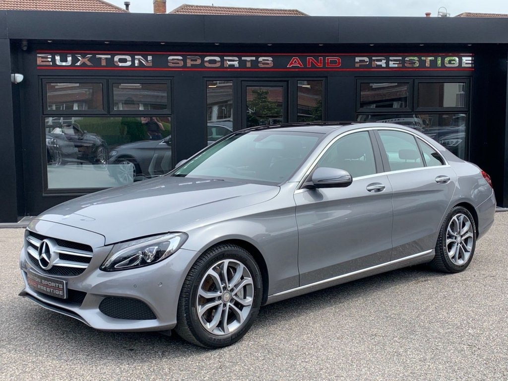 USED 2016 16 MERCEDES-BENZ C-CLASS 2.0 C350e 6.4kWh Sport (Premium) G-Tronic+ (s/s) 4dr Full Service History