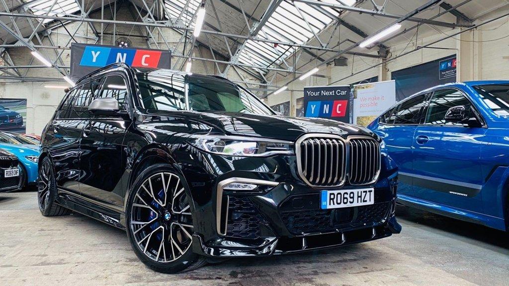 USED 2019 69 BMW X7 3.0 M50d Auto xDrive (s/s) 5dr PERFORMANCEKIT+M50DX7+22S+WOW