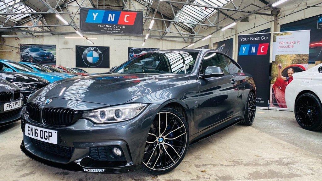 USED 2016 16 BMW 4 SERIES 2.0 420i M Sport Auto (s/s) 2dr PERFORMANCEKIT+20S+PLUSPACK