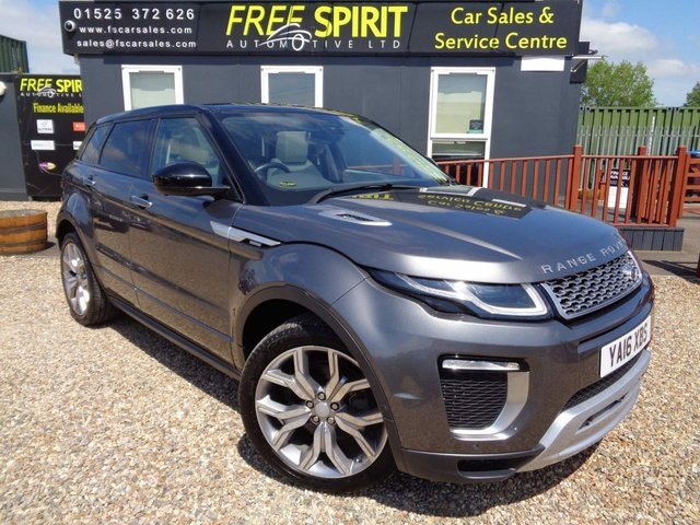 USED 2016 16 LAND ROVER RANGE ROVER EVOQUE 2.0 TD4 Autobiography Auto 4WD (s/s) 5dr 360 Cam, A/C Seats, Pan Roof