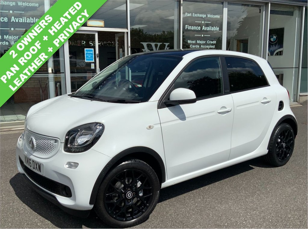 USED 2016 16 SMART FORFOUR 0.9 Turbo White Edition