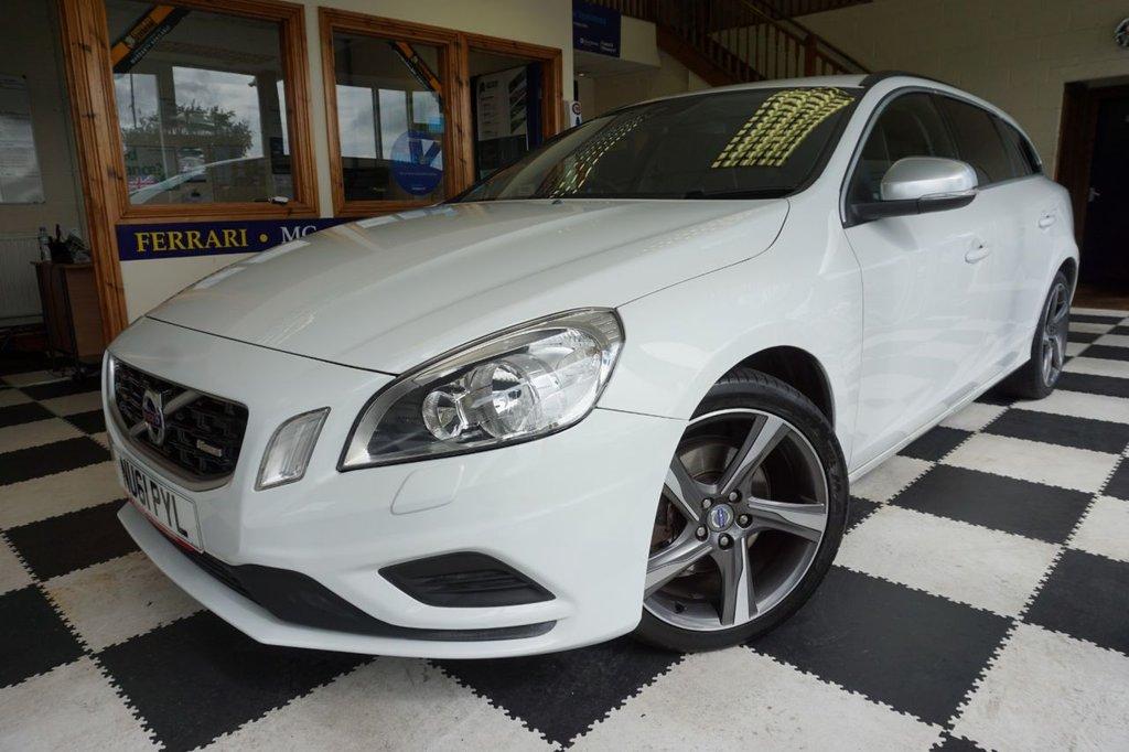 USED 2011 61 VOLVO V60 1.6 DRIVE R-DESIGN S/S 5d 113 BHP £30 ROAD TAX! 62 MPG! AIR CON!