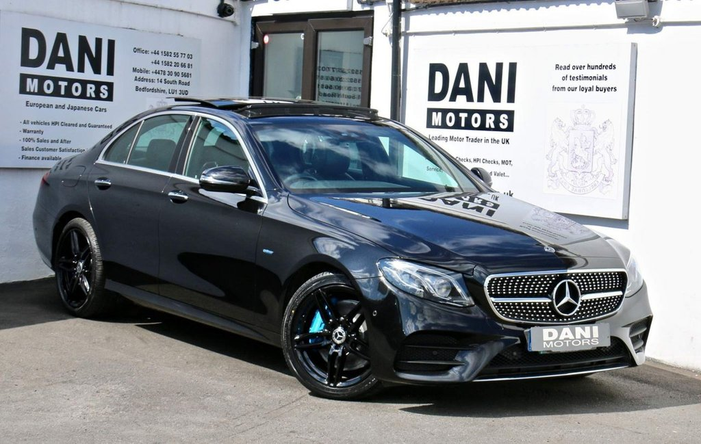 USED 2017 17 MERCEDES-BENZ E-CLASS 2.0 E350e 6.4kWh AMG Line (Premium Plus) G-Tronic+ (s/s) 4dr PANORAMIC ROOF*REVERSE CAMERA