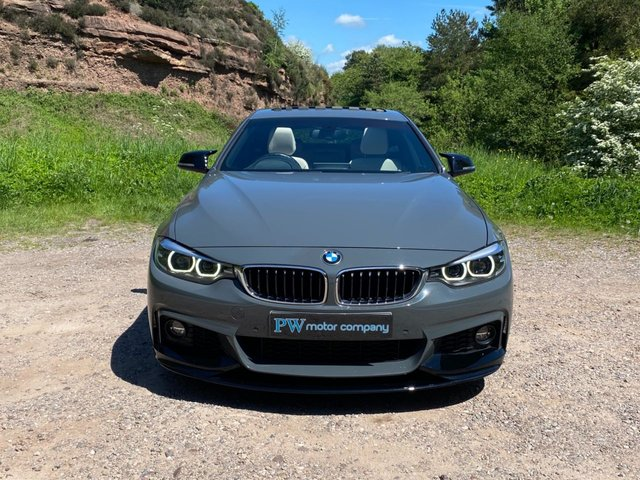 USED 2017 17 BMW 4 SERIES 2.0 420D M SPORT GRAN COUPE 4d 188 BHP TOP SPEC SUNROOF