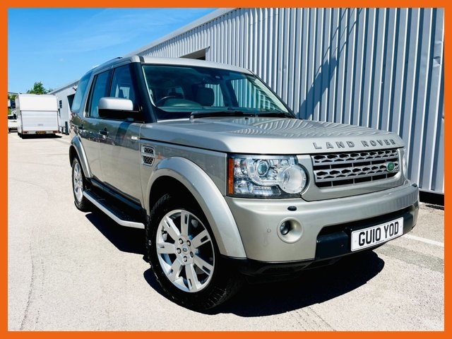USED 2010 10 LAND ROVER DISCOVERY 3.0 4 TDV6 XS 5d 245 BHP FULL SERVICE HISTORY - CAM BELT DONE - MOT UNTIL MARCH 2022 WITH NO ADVISORIES - HEATED SEATS - AIR CONDITIONING - TOW BAR FITTED - HARMAN KARDON SPEAKERS - 3 MONTH WARRANTY