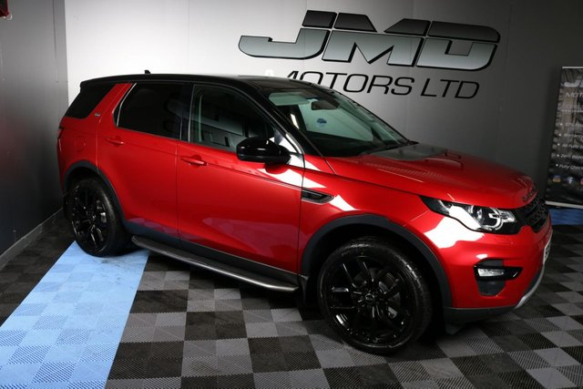 USED 2015 15 LAND ROVER DISCOVERY SPORT 2015 LAND ROVER DISCOVERY SPORT 2.2 SD4 HSE AUTO 190 BHP ( FINANCE & WARRANTY)