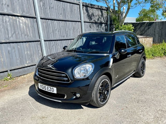 USED 2015 15 MINI COUNTRYMAN 1.6 COOPER D ALL4 5d 112 BHP FMSH. Very high spec/low miles! PX, Finance and delivery available.