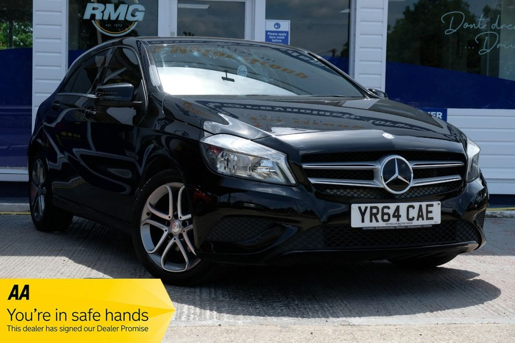 USED 2014 64 MERCEDES-BENZ A-CLASS 1.5 A180 CDI BLUEEFFICIENCY SPORT 5d 109 BHP AVAILABLE FOR £215 PER MONTH £0 DEPOSIT