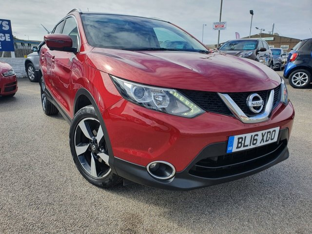 USED 2016 16 NISSAN QASHQAI 1.5 N-CONNECTA DCI 5d 108 BHP *** FINANCE & PART EXCHANGE WELCOME *** 1 OWNER FROM NEW £ 20 ROAD TAX SAT/NAV PANORAMIC ROOF 360 VIEW CAMERAS PRIVACY GLASS BLUETOOTH PHONE DAB RADIO