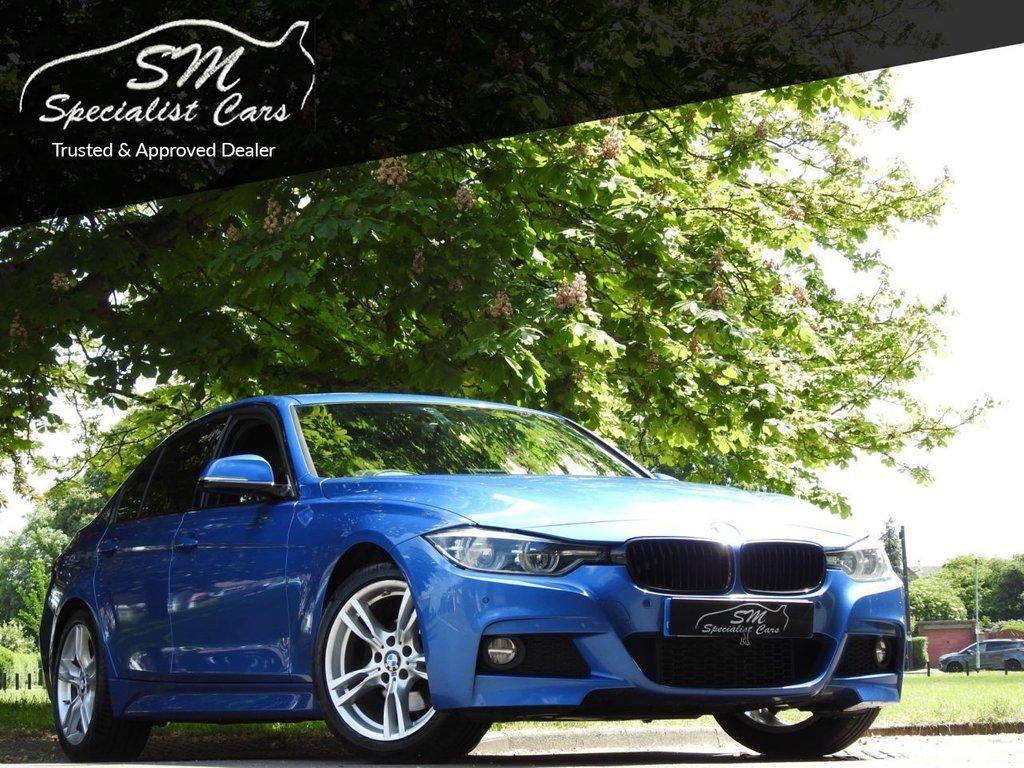 USED 2017 67 BMW 3 SERIES 2.0 330E M SPORT 4d 181 BHP 1 OWNER 70K FSH VAT Q A/C VGC
