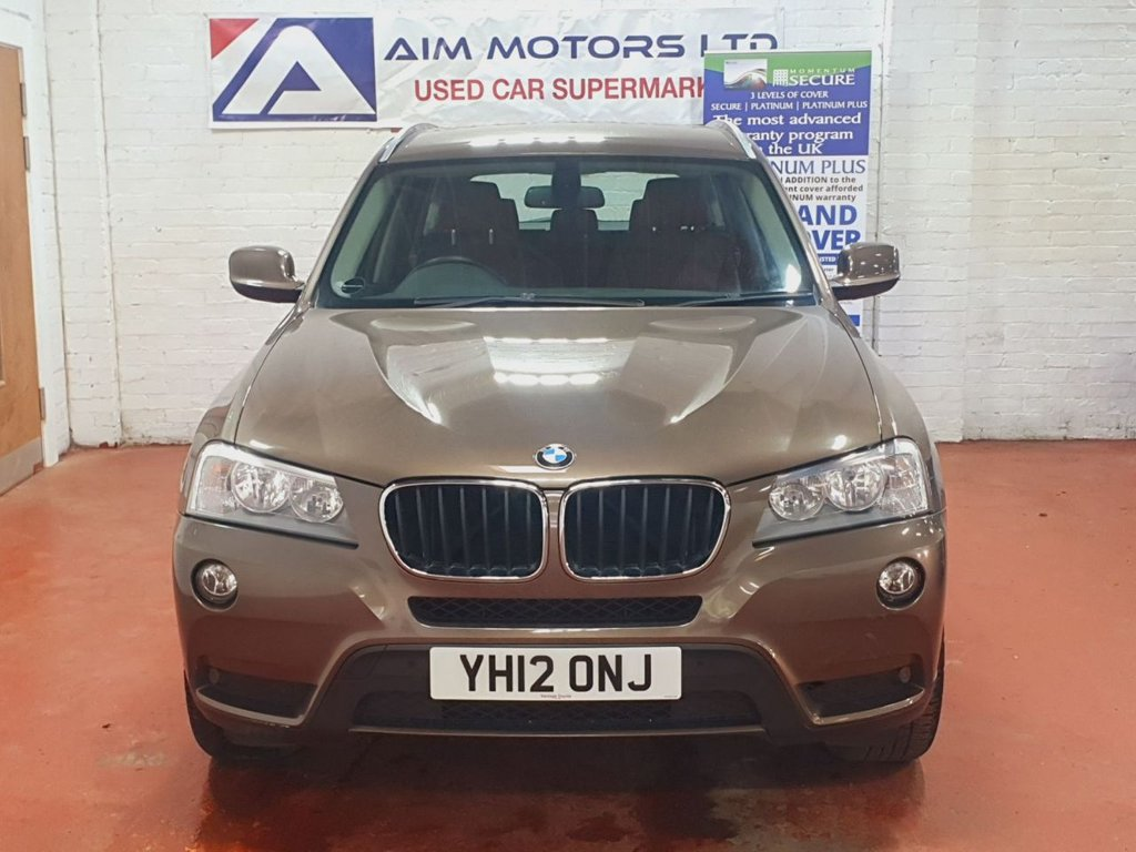 USED 2012 12 BMW X3 2.0 XDRIVE20D 5d 181 BHP SPECIAL EDITION 1 OWNER FROM NEW, FULL SERVICE HISTORY, LONG MOT, ***TAN LEATHER***