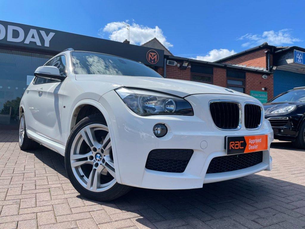 USED 2014 P BMW X1 2.0 XDRIVE18D M SPORT 5d 141 BHP