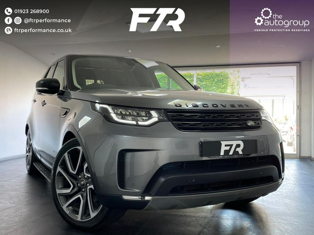 USED 2018 18 LAND ROVER DISCOVERY 3.0 COMMERCIAL TD6 HSE 255 BHP