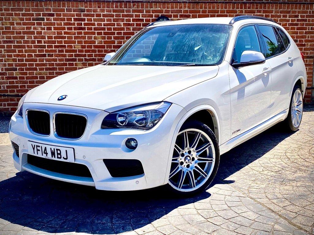 USED 2014 14 BMW X1 2.0 XDRIVE18D M SPORT 5d 141 BHP