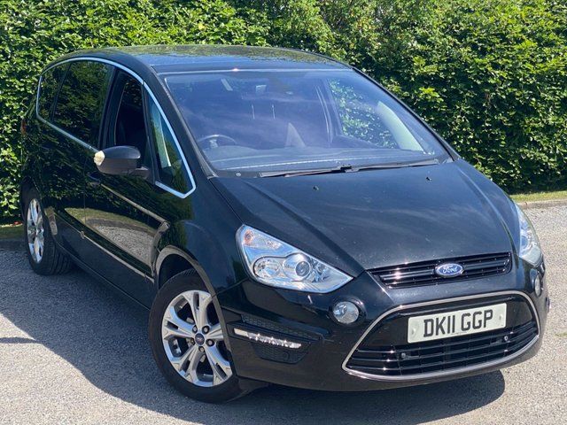 USED 2011 11 FORD S-MAX 2.0 TITANIUM TDCI 5d 161 BHP * FAMILY VEHICLE * FULL GLASS PANORAMIC SUNROOF * 12 MONTHS FREE AA MEMBERSHIP *