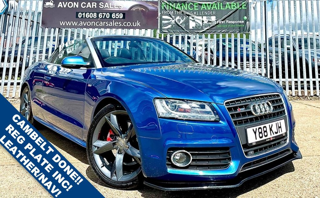 USED 2011 Y AUDI A5 2.0 TDI S LINE 2d 168 BHP - CAMBELT DONE! SAT NAV! LEATHER! NUMBER PLATE INCLUDED! 2 PREV OWNERS! 4 SERVICE STAMPS! 2 KEYS!