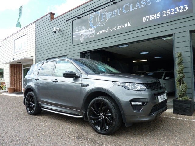 2017 17 LAND ROVER DISCOVERY SPORT 2.0 TD4 HSE DYNAMIC LUX 5d 180 BHP