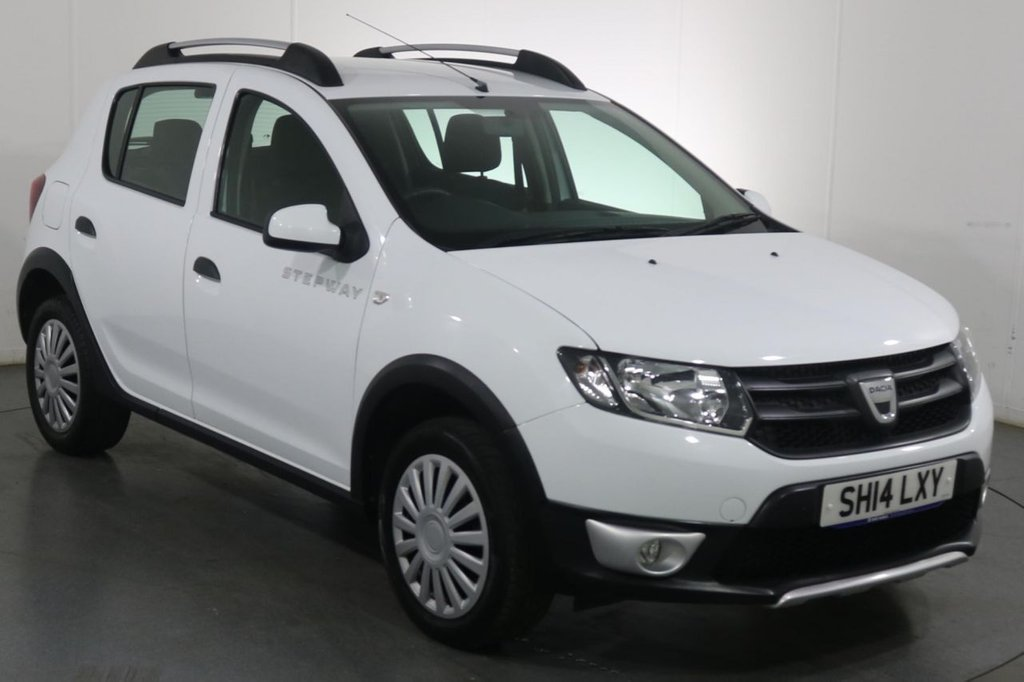 USED 2014 14 DACIA SANDERO STEPWAY 0.9 AMBIANCE TCE 5d 90 BHP FULL 5 STAMP SERVICE HISTORY