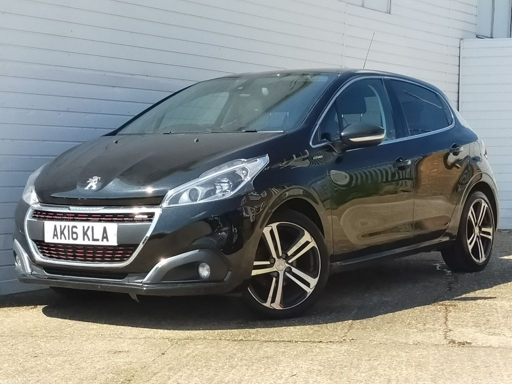 USED 2016 16 PEUGEOT 208 1.6 BLUE HDI S/S GT LINE 5d 120 BHP
