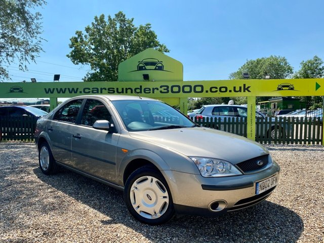 USED 2002 02 FORD MONDEO 1.8 LX 16V 5d 125 BHP
