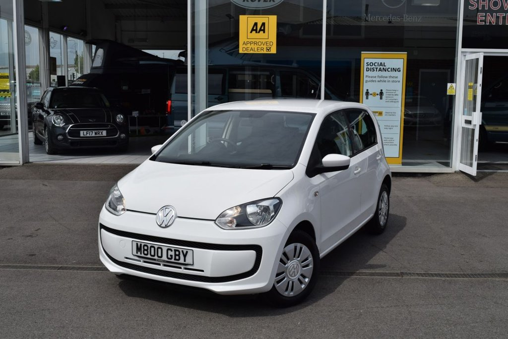 USED 2014 M VOLKSWAGEN UP 1.0 MOVE UP 5d 59 BHP Low Road Tax
