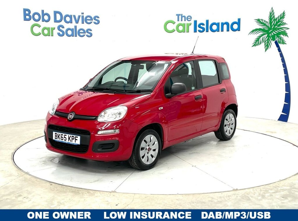 USED 2015 65 FIAT PANDA 1.2 POP 5d 69 BHP Radio/CD with MP3 player and USB One Owner 50000 miles