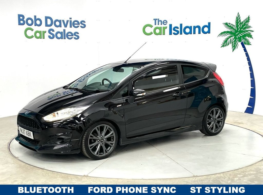 USED 2017 17 FORD FIESTA 1.5 ST-LINE TDCI 3d 94 BHP Spoiler & Skirts, Air Con, Bluetooth &  Privacy Glass