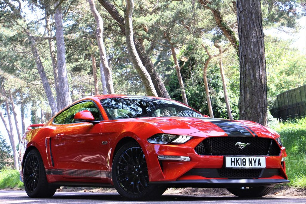 USED 2018 18 FORD MUSTANG 5.0 GT 2d 444 BHP