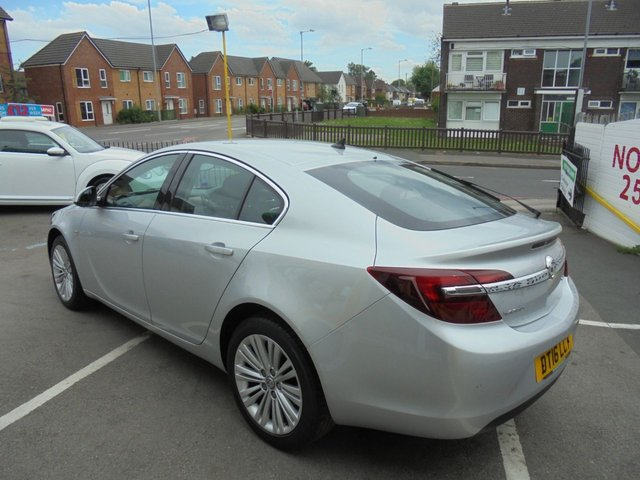 USED 2016 16 VAUXHALL INSIGNIA 1.6 TECH LINE CDTI 5d 134 BHP **BOOK YOUR TEST DRIVE NOW *