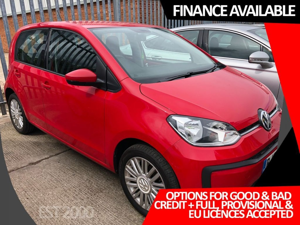 USED 2017 67 VOLKSWAGEN UP 1.0 MOVE UP 5d 60 BHP * AIR CON * BLUETOOTH * MOT OCT * 2 KEYS * ELECTRIC WINDOWS *