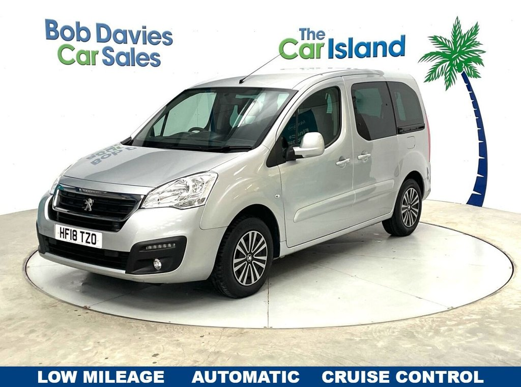 USED 2018 18 PEUGEOT PARTNER 1.6 BLUE HDI TEPEE ACTIVE 5d 100 BHP Cruise Control only 19000 miles Air Con & Privacy Glass