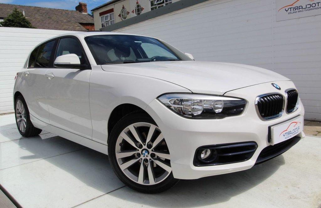 USED 2018 18 BMW 1 SERIES 2.0 118D SPORT 5d 147 BHP 2 Keys - FSH - Nav