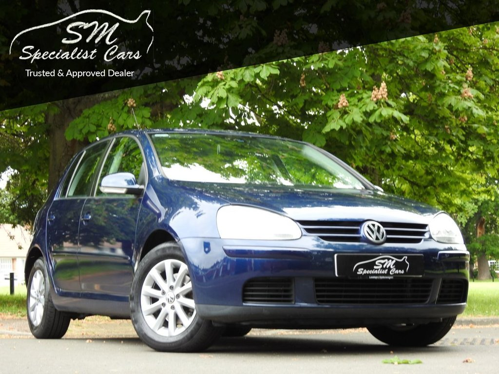 USED 2008 08 VOLKSWAGEN GOLF 1.9 MATCH TDI DSG 5d 103 BHP ONLY 28K FROM NEW A/C VGC