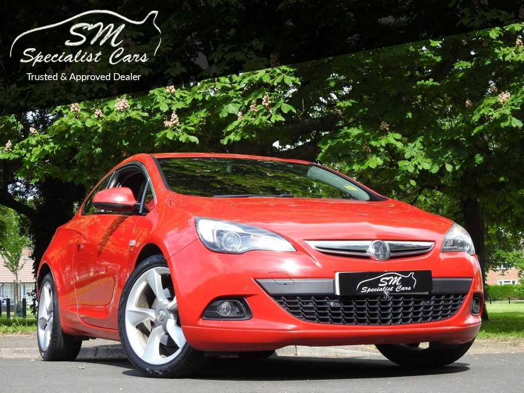 USED 2012 12 VAUXHALL ASTRA GTC 1.6 SRI 3d 177 BHP ONLY 94K - SERVICE HISTORY VGC