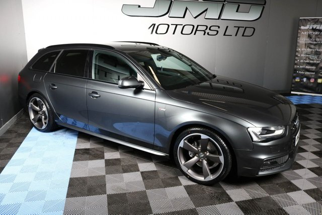 USED 2013 13 AUDI A4 LATE 2013 AUDI A4 2.0 TDI AVANT S LINE BLACK EDITION STYLE 177 BHP (FINANCE AND WARRANTY)