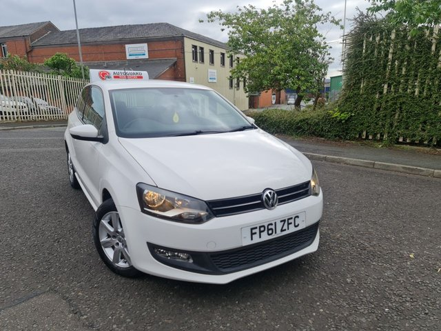 USED 2011 61 VOLKSWAGEN POLO 1.4 MATCH DSG 3d 83 BHP A GREAT AUTOMATIC POLO