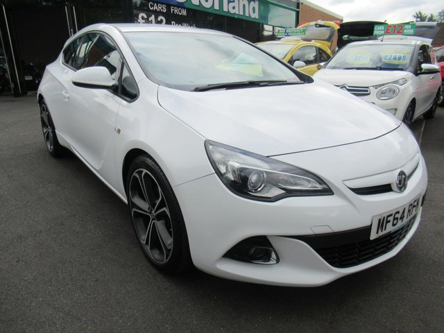 USED 2014 64 VAUXHALL ASTRA GTC 1.4 LIMITED EDITION S/S 3d 118 BHP ** 01543 379066  ** JUST ARRIVED ** TEST DRIVE TODAY