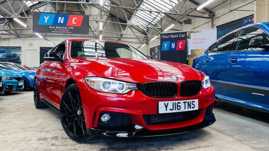 USED 2016 16 BMW 4 SERIES 2.0 420d M Sport Auto xDrive 2dr PERFORMANCEKIT+20S+4WD+PLUSPAK