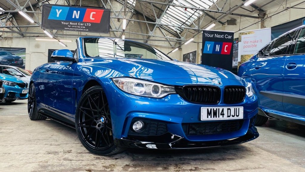 USED 2014 14 BMW 4 SERIES 2.0 420d M Sport Auto 2dr PERFORMANCEKIT+COMFORTPACK+20S