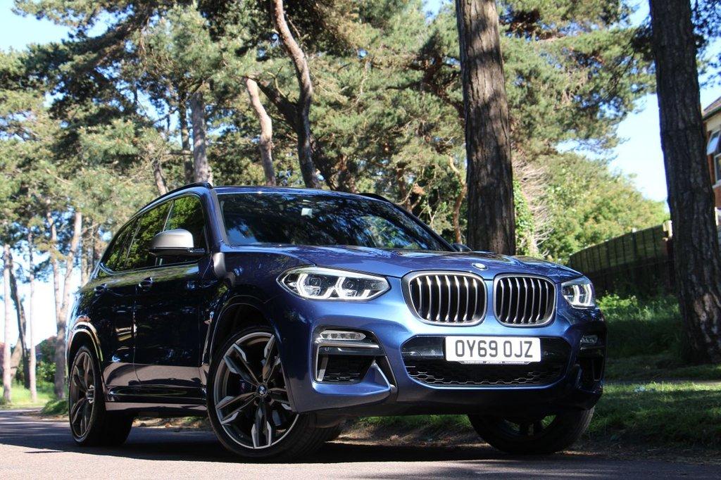 USED 2019 69 BMW X3 M40D 322BHP