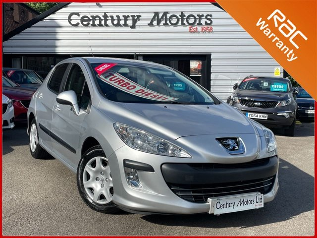2010 60 PEUGEOT 308 1.6 S HDi 5dr - HPI CLEAR