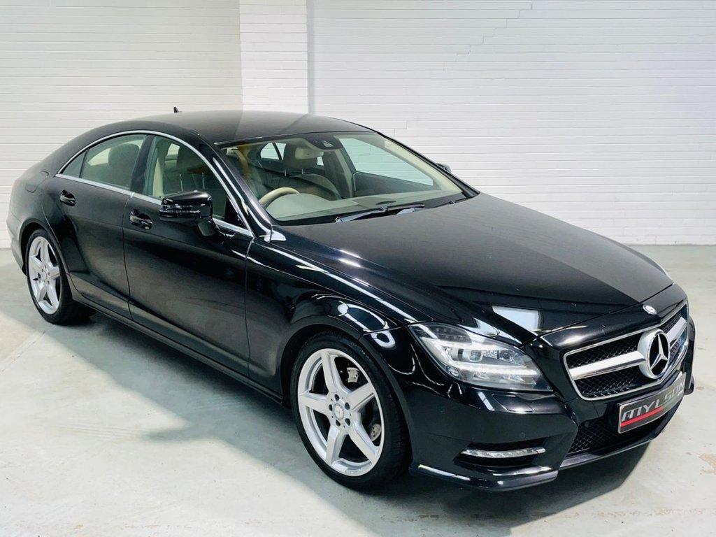 USED 2013 13 MERCEDES-BENZ CLS CLASS 2.1 CLS250 CDI BLUEEFFICIENCY AMG SPORT 4d 204 BHP Full Mercedes History Harman Kardon Audio FINANCE