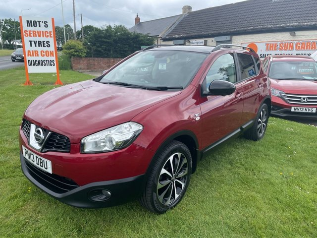 USED 2013 13 NISSAN QASHQAI 1.6 DCI 360 4x4 FSH 2 OWNERS READY TO DRIVE AWAY TODAY