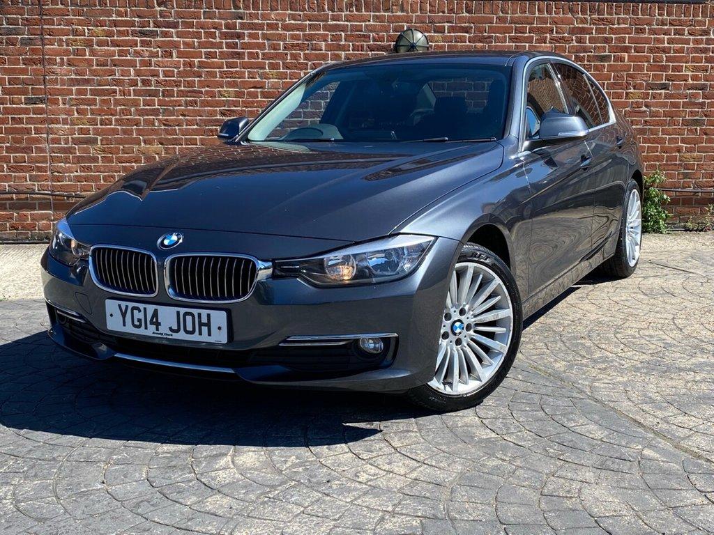 USED 2014 14 BMW 3 SERIES 2.0 320D LUXURY 4d 184 BHP