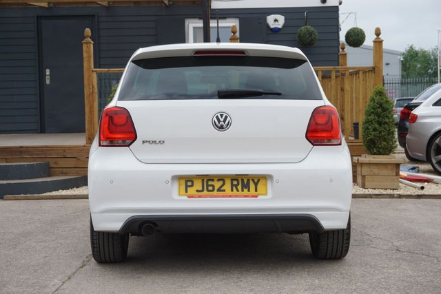 USED 2012 62 VOLKSWAGEN POLO 1.2 R LINE TSI 5d 104 BHP JUST ARRIVED STUNNING R-LINE EDITION