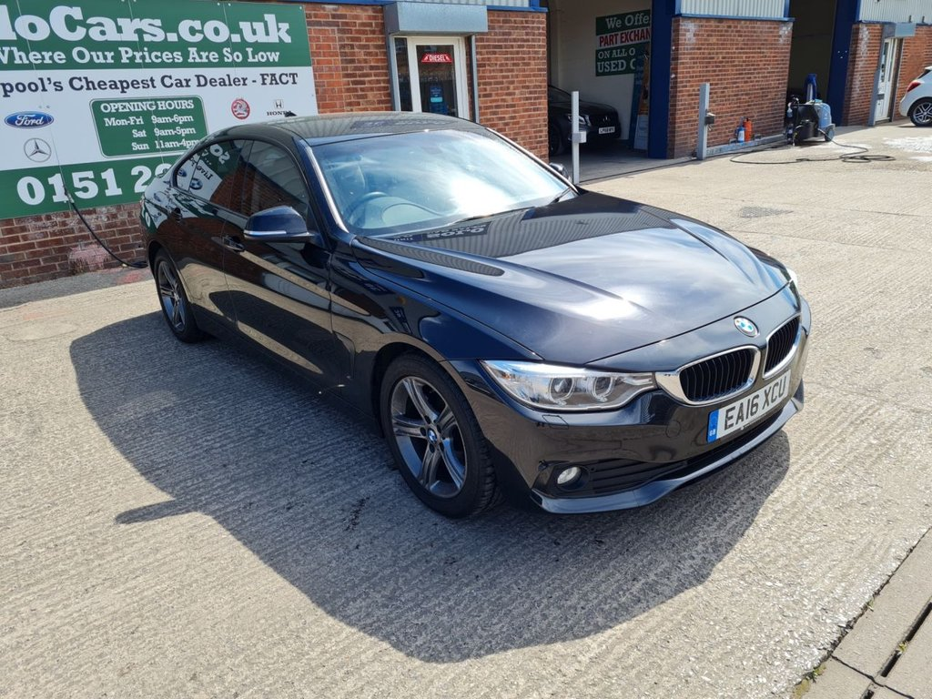 USED 2016 16 BMW 4 SERIES 2.0 418D SE GRAN COUPE 4d 148 BHP