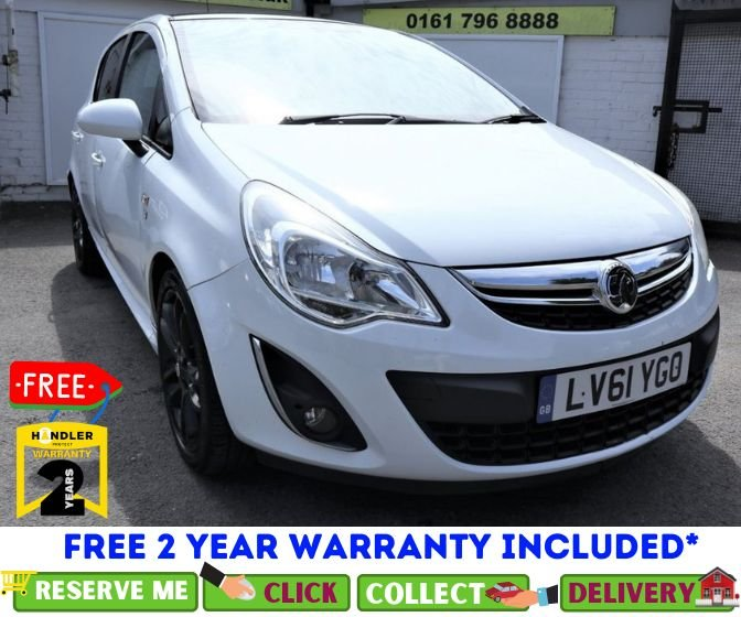 USED 2011 61 VAUXHALL CORSA 1.2 LIMITED EDITION 5d 83 BHP *CLICK & COLLECT OR DELIVERY *
