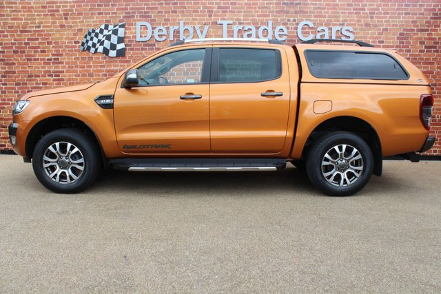 FORD RANGER at Derby Trade Cars